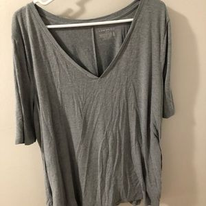 Gray Lane Bryant T-shirt with swing fit
